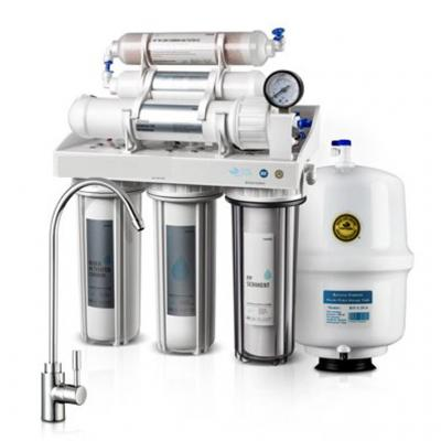 6 Stages RO water Filter with Stand and Computer control display