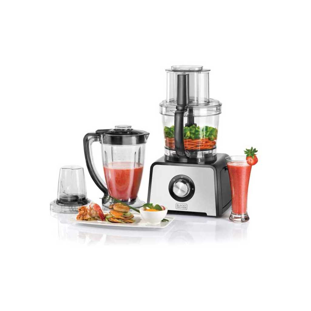 BLACK & DECKER FOOD PROCESSOR FX-810